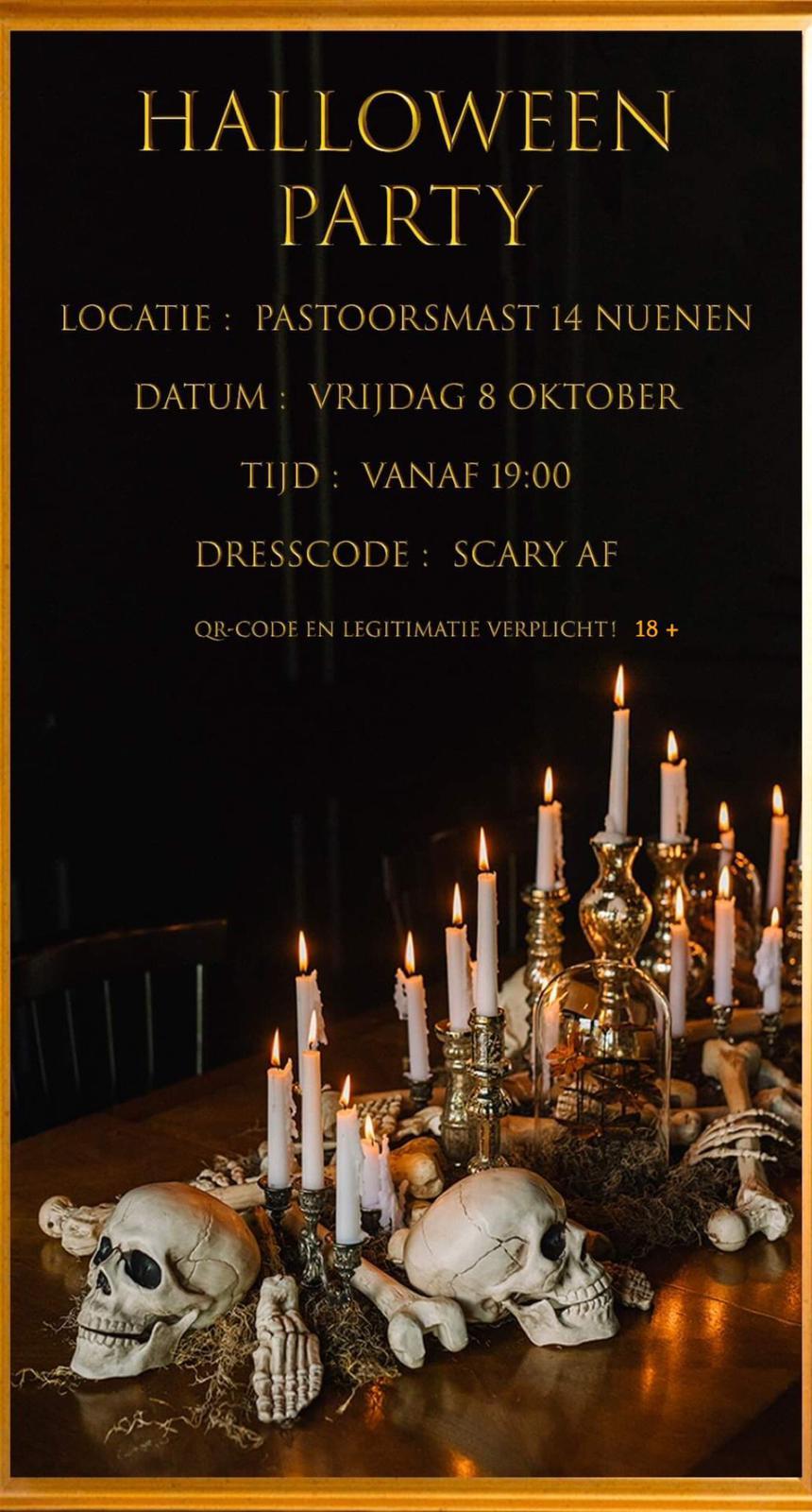 Halloween Party RKSV Nuenen
